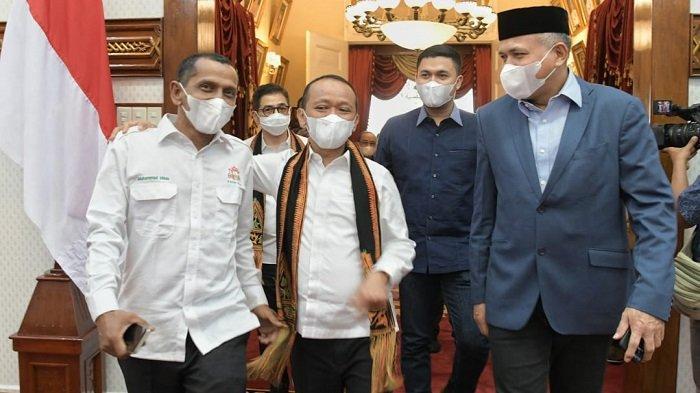 Kunjungi Aceh, Menteri BahlilLahadalia Sebut Investasi Blok B dan UEA Akan Dieksekusi