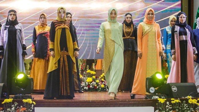 Modisnya Baju Etnik Gaya Minimalis Aceh yang Dipamerkan pada Pertemuan Tahunan BI, Begini Coraknya