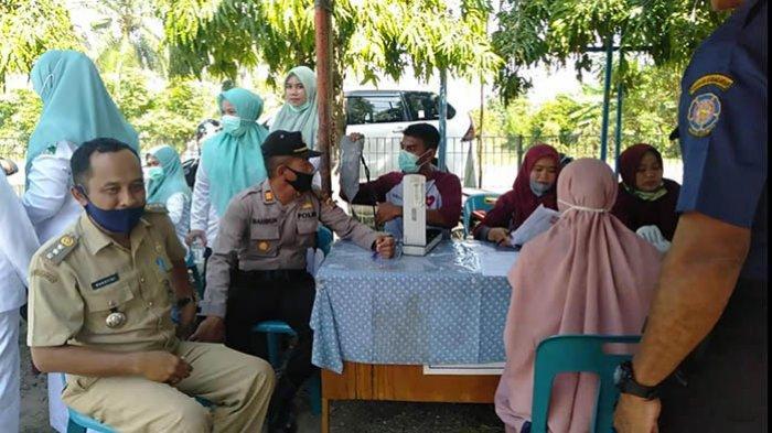 Lintas Relawan di Samalanga Kumpulkan 59 Kantong Darah