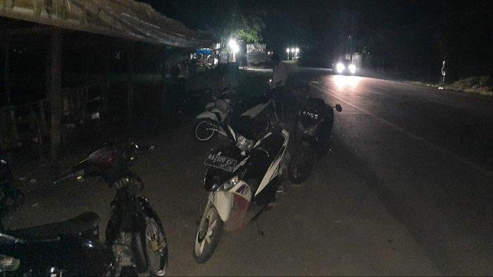 Polisi Datang Peserta Balapan Liar Kabur, 10 Sepmor Diamankan