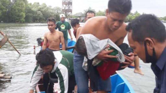 Balita Meninggal Tenggelam, Perahu Wisata Dinaikinya di Jembatan Cinta Terbalik, Akibat Cuaca Buruk