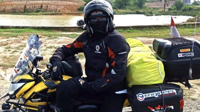 Naik Haji dengan Sepeda Motor dari Cimahi, Singgah di Serambi Mekkah untuk Dilepas Gubernur Aceh
