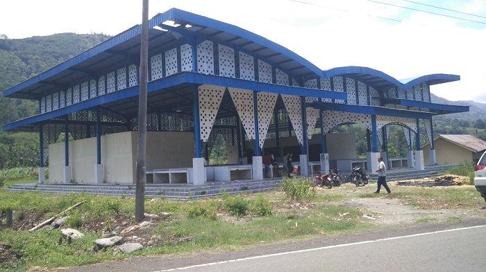 Bangunan Mega Los Seldok, Aceh Tenggara belum Difungsikan Untuk Pasar, Kondisinya Mulai Rusak