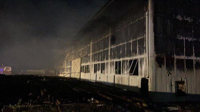Gudang Material Pertamina EP Rantau Terbakar