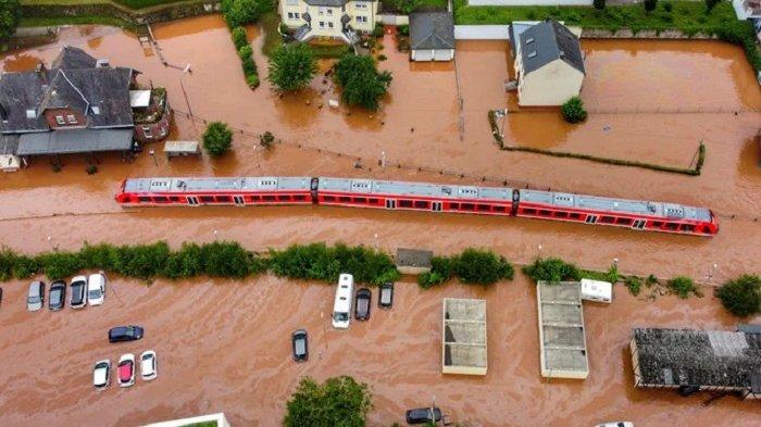 Banjir Bandang Terjang Uni Eropa, Jerman Barat Alami Dampak Paling Parah