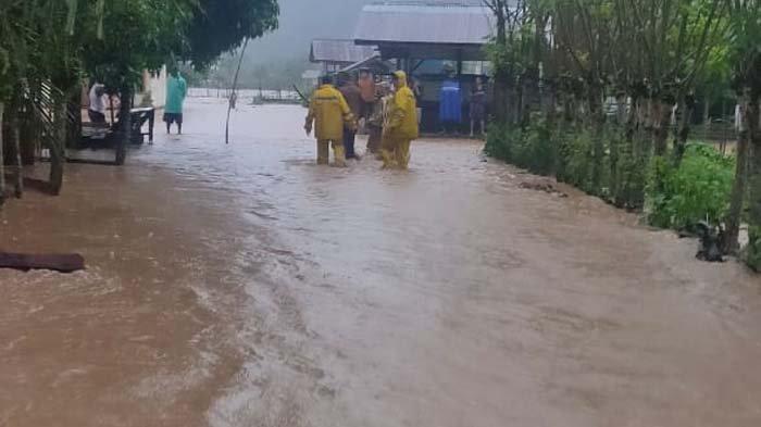 Banjir Rendam Lhoong, Nenek Hilang Terseret Arus