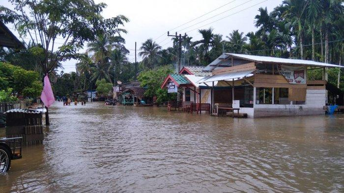 Sembilan Desa di Aceh Jaya Tergenang Banjir
