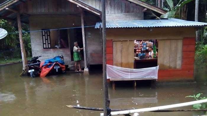 Diguyur Hujan Lebat, Ini Nama Desa di Simeulue Dilanda Banjir