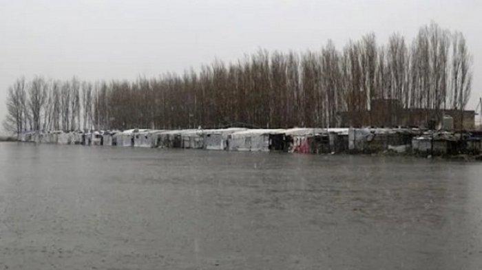 Banjir Bandang Sapu Ranjau Darat dari Perbatasan Suriah ke Lebanon