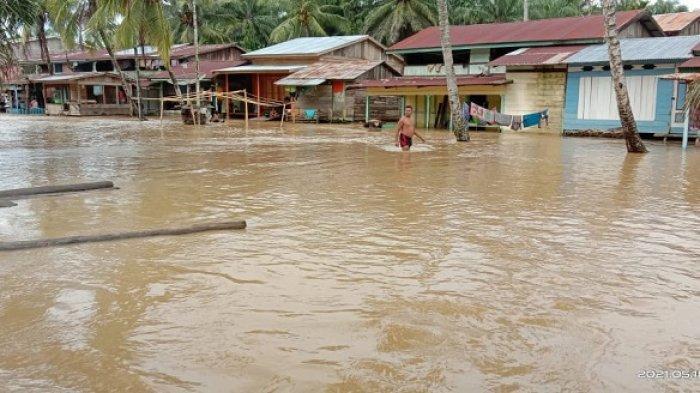 Cuaca Ekstrem, Banjir Landa Dua Kecamatan di Kota Subulussalam