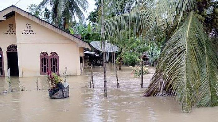 Tiga Desa Lagi di Tripa Makmur Terendam Banjir Luapan Krueng Lamie, Ini Nama-nama Gampongnya