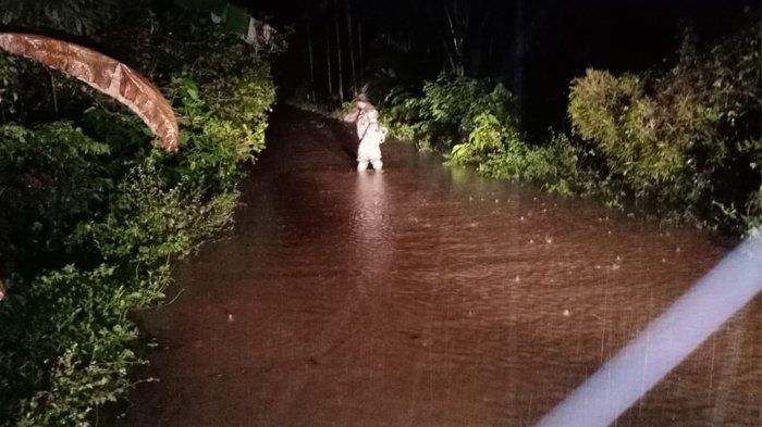 BREAKING NEWS: Sejumlah Desa di Aceh Jaya Tergenang Banjir