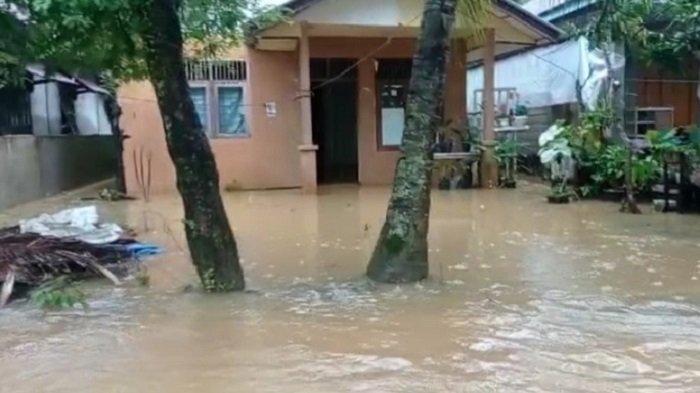 Banjir di Aceh Selatan, Puluhan Rumah di Desa Air Pinang Terendam