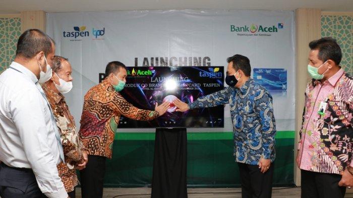 Bank Aceh Luncurkan Co-Branding Smart Card Taspen