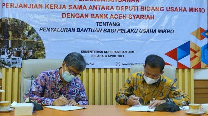 Bank Aceh Syariah Resmi Jadi Penyalur BPUM Tahun 2021