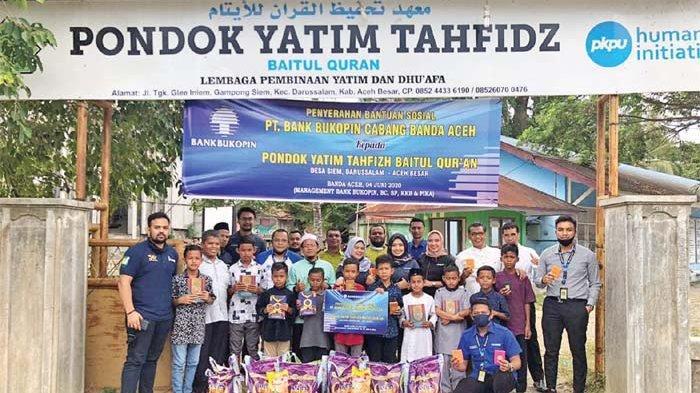 Bank Bukopin Salurkan Bantuan untuk Pondok Yatim Tahfidz
