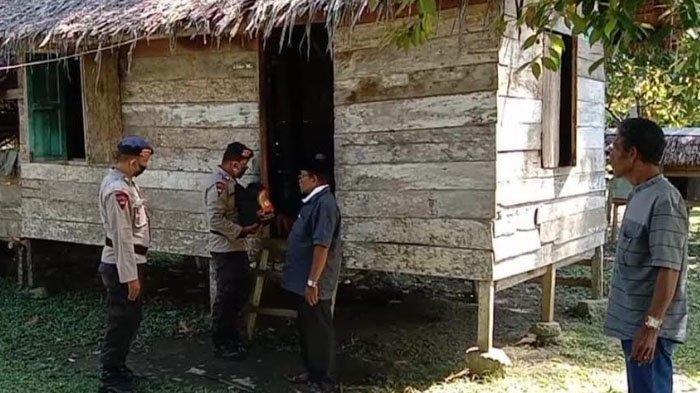 Brimob Kompi 3 di Nagan Raya Kembali Salurkan Sembako dalam Rangka HUT Bhayangkara