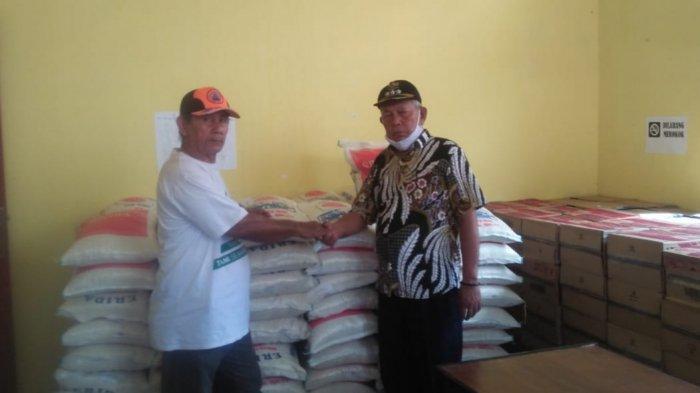 Banjir Surut, Bantuan Masa Panik Disalurkan