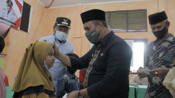 5.508 Anak Yatim dan Fakir Miskin di Ace Jaya Dapat Bantuan Saat Meugang