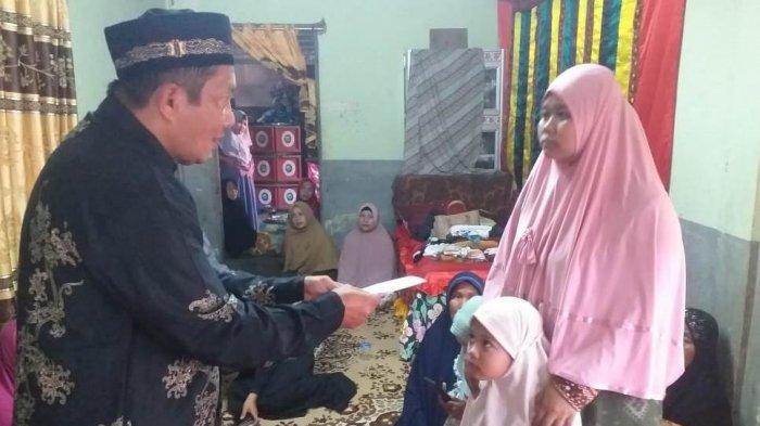 Paguyuban Manggeng Raya Bantu Keluarga Warga Aceh yang Meninggal di Malaysia