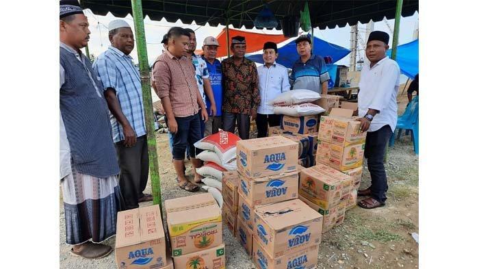 Fraksi Gerindra DPRA Serahkan Bantuan Untuk Korban Banjir Pidie