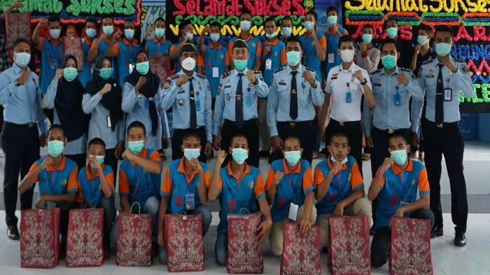Bapas Banda Aceh Tutup Kegiatan Pembinaan Kemandirian Anak Didik