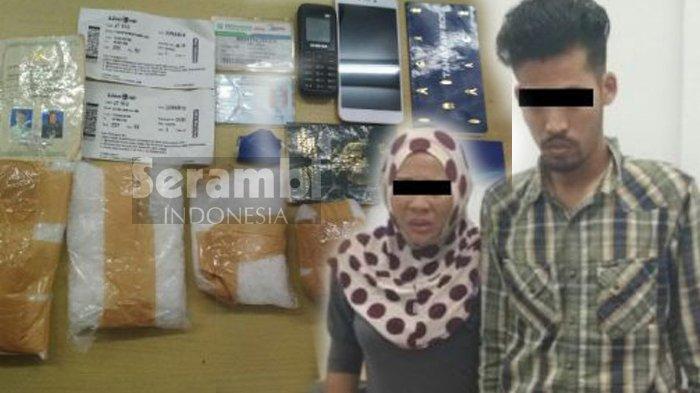 Sembunyikan Sabu dalam Bra dan Selangkangan, Pasutri Penumpang Lion Air Asal Aceh Ditangkap