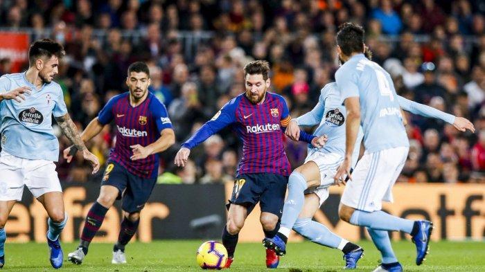 Hasil Liga Spanyol - Barcelona Hantam Celta Vigo, Sempat Diwarnai Insiden Berdarah