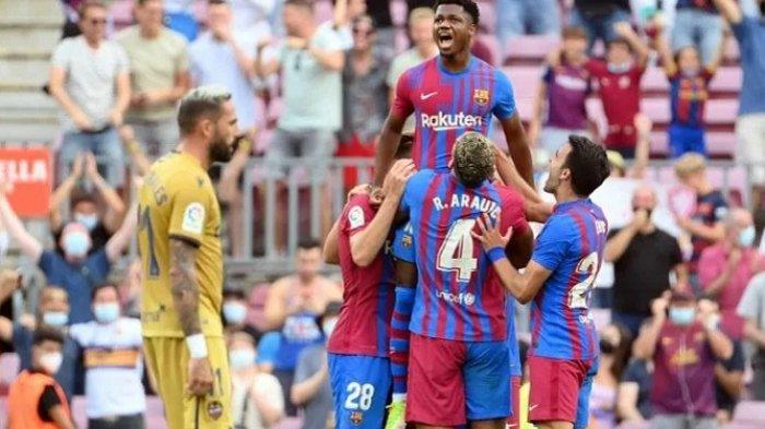 Seragam Lionel Messi Bawa Berkah Bagi Barcelona, Hancurkan Levante 3-0 Tanpa Balas