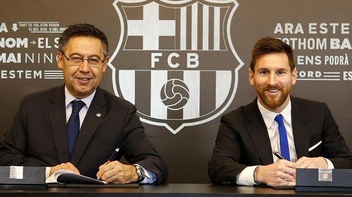 Polisi Gerebek Kantor Barcelona, Mantan Presiden Klub dan Dua Orang Kepercayaannya Ditahan