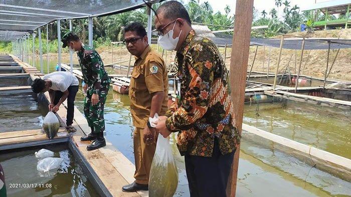 Bank Aceh Bersama TNI Kembangkan UMKM di Aceh Utara