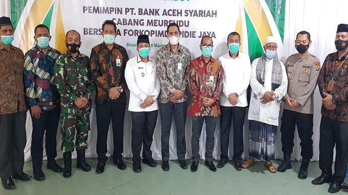 Direktur Dana dan Jasa BAS Pusat Minta Bupati Pidie Jaya Awasi Kinerja Pinca BAS Meureudu