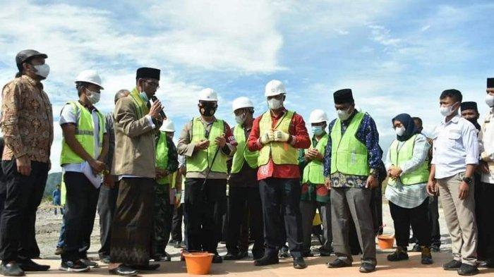 Plt Bupati Dailami Letakkan Batu Pertama Pembangunan Gedung BMCC