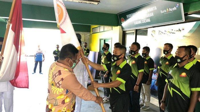 Aminullah Lantik Lettu Inf Izdihar Sebagai Ketua Baveti Aceh Jaya