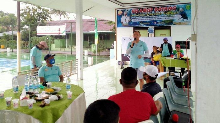 30 Ganda Veteran Meriahkan Turnamen Tenis Baveti Cup Se-Provinsi Aceh di Lhokseumawe