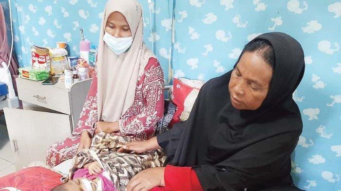 Derita Bayi Gizi Buruk di Aceh Utara, Aqila Berharap Uluran Tangan Para Dermawan