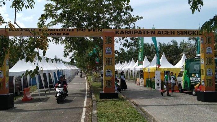 Pulihkan Ekonomi Akibat Terdampak Corona, Pemkab Aceh Singkil Gelar Bazar Tangguh, Ada Pasar Murah