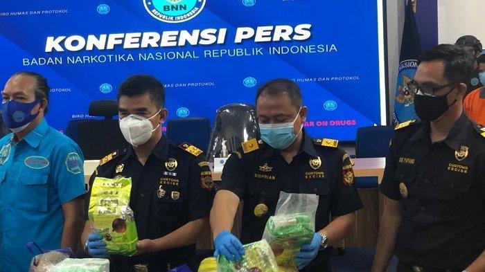 Tim Gabungan Bea Cukai dan BNN Gelar Operasi Jaring Sriwijaya, Amankan Sabu 80 Kg, 4 Orang Ditangkap