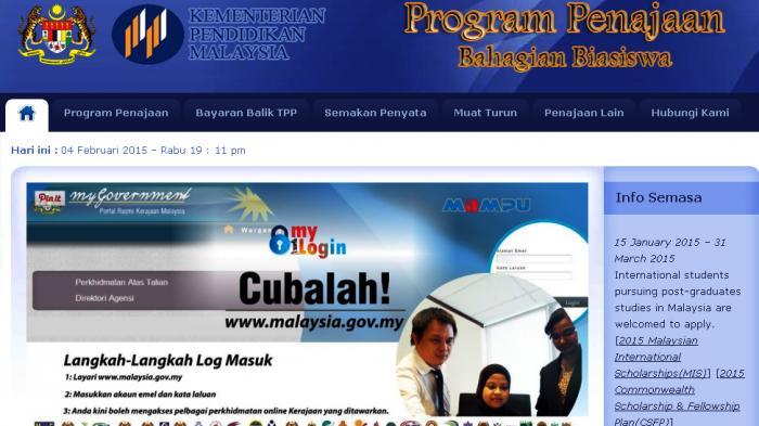 Ini Dia Info Beasiswa Malaysia 2015