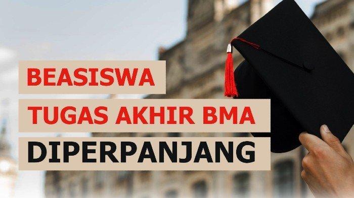 Beasiswa Penyusunan Tugas Akhir/Skripsi untuk D3 dan S1 Baitul Mal Aceh Diperpanjang, Ini Syaratnya!