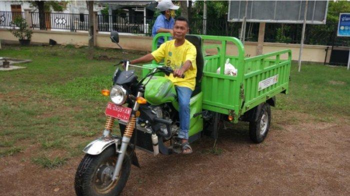 Becak Patroli Sampah Hadir di Gampong dalam Kota Banda Aceh, TPS Liar Berkurang Drastis