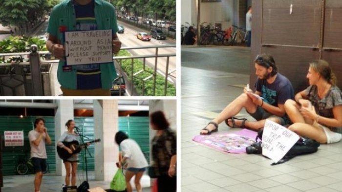 Waduh! Beg-packers, Fenomena Turis Bule Mengemis di Negara Berkembang yang Sedang Heboh