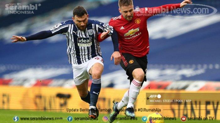FOTO - Live Streaming Duel West Brom vs Manchester United - bek-manchester-united-luke-shaw.jpg