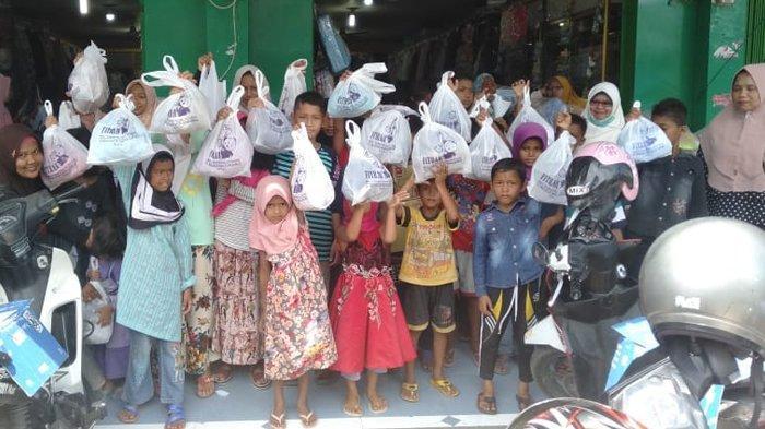 Idul Fitri 1440 H - Ketika 50 Anak Yatim dan Dhuafa di Pidie Berbelanja Baju Lebaran