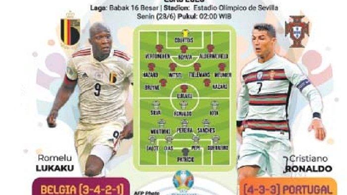 Belgia vs Portugal, Siap Menyerang