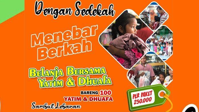Idul Fitri 1442 H, Pidie Mengajar Targetkan Belanja Baju Lebaran Bersama 100 Anak Yatim dan Duafa