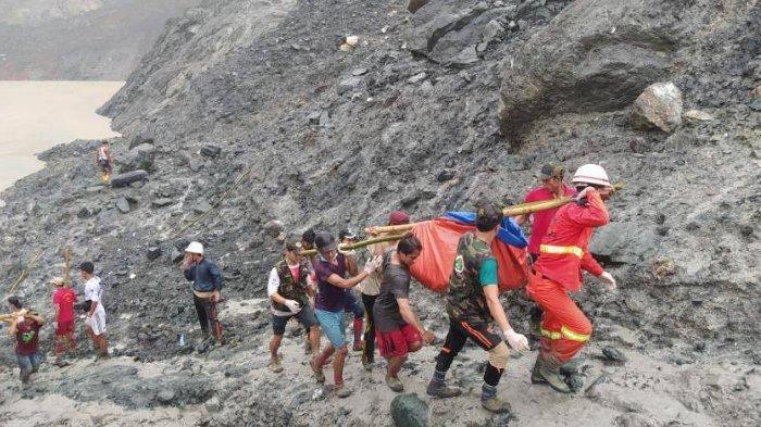 Tambang Batu Giok di Myanmar Longsor, 162 Orang Tewas dan Puluhan Lainnya Masih Hilang