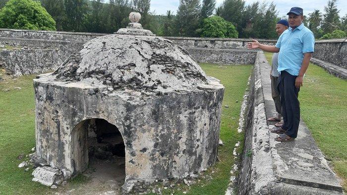 Situs Cagar Budaya Benteng Indrapatra di Aceh Besar Kurang Dilestarikan dan Sepi Pengunjung