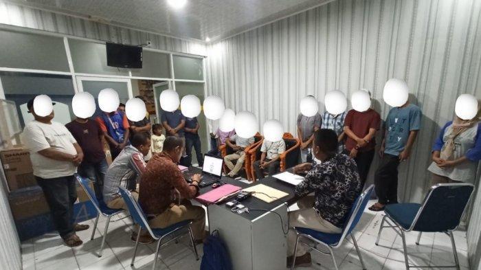 Berantas Aksi Premanisme, Polisi Amankan 13 Jukir Liar, Satu Tersangka Pengutip Dana Dari PKL