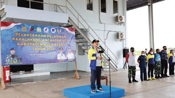 Bupati Aceh Besar Sambut Baik Pelatihan Paralayang Tahun 2021